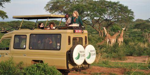Raften op de Nijl in Jinja Uganda - Matoke Tours