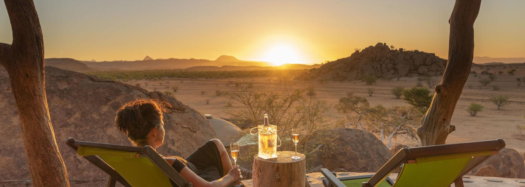 Luxe rondreis door Namibie - 18 daagse individuele reis door Namibie