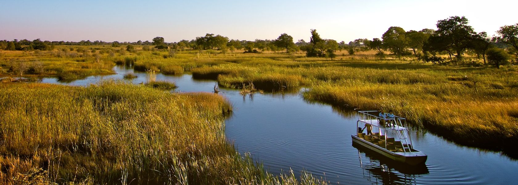 Zambezi regio in Namibië - Zambezi River - Caprivistrook