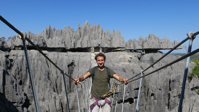 BLOG: wandelen door Madagascar - Tsingy de Bemaraha Nationaal Park
