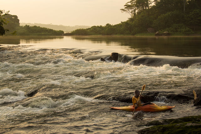 Raften in Uganda - Matoke Tours