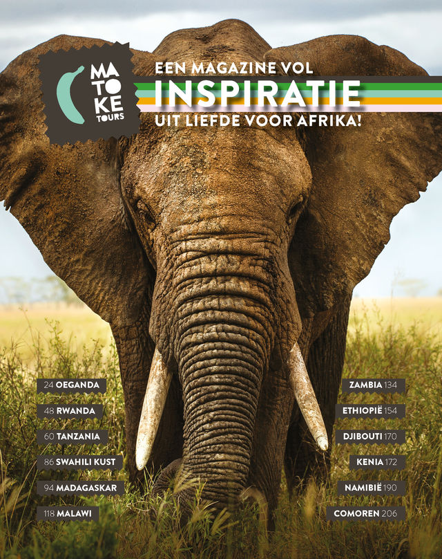 Brochure Afrika aanvragen - Matoke Tours - Matoke Magazine