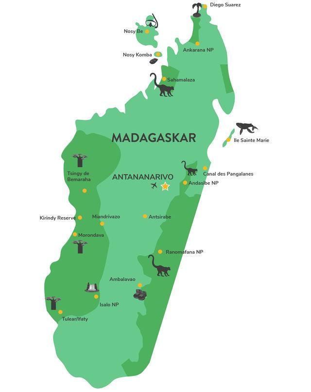 Privéreis Madagascar fly & drive - 21 dagen | Matoke Tours