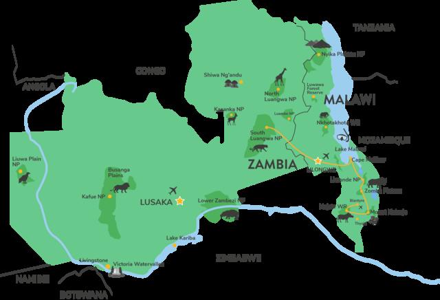 Groepsreis Malawi en Zambia - 17 dagen - Matoke Tours
