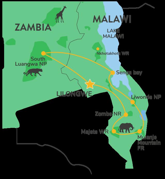 Malawi & Zambia combinatiereis 2022 » Matoke