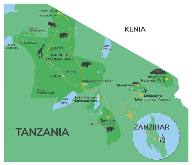 Tanzania groepsreis - groepsreis Tanzania Zanzibar - Matoke Tours