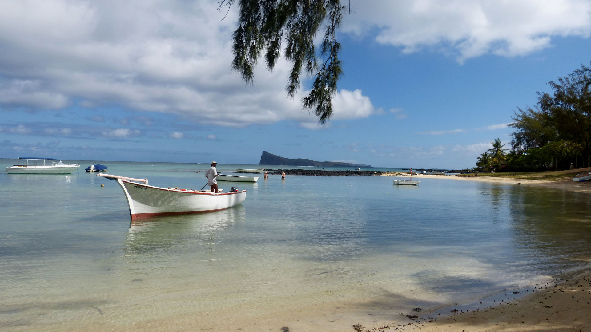 Over Mauritius