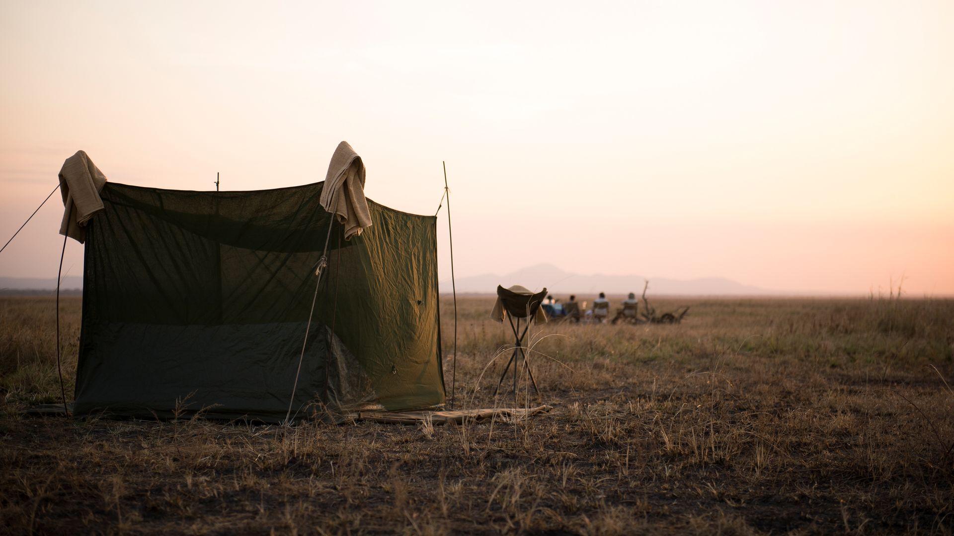 Nomad Chada Katavi Flycamp » Matoke