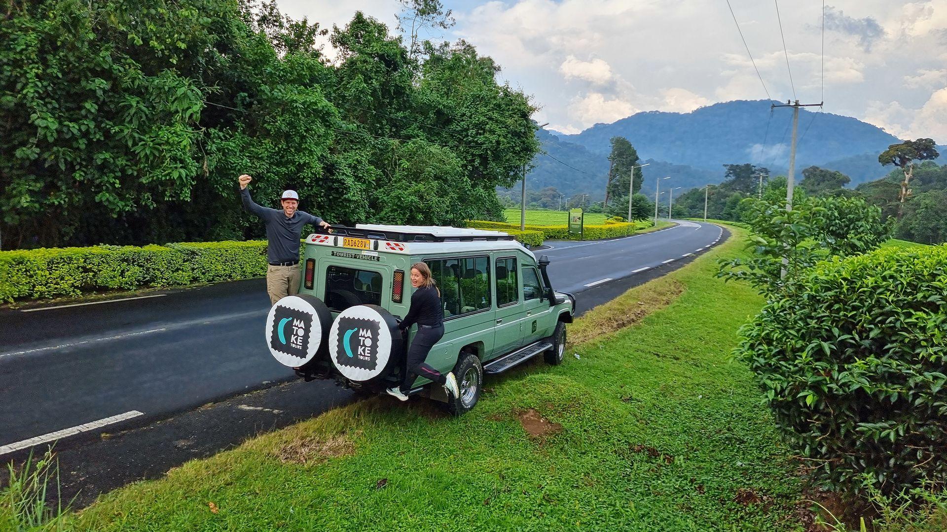 4WD safari voertuigen Rwanda   Matoke Tours