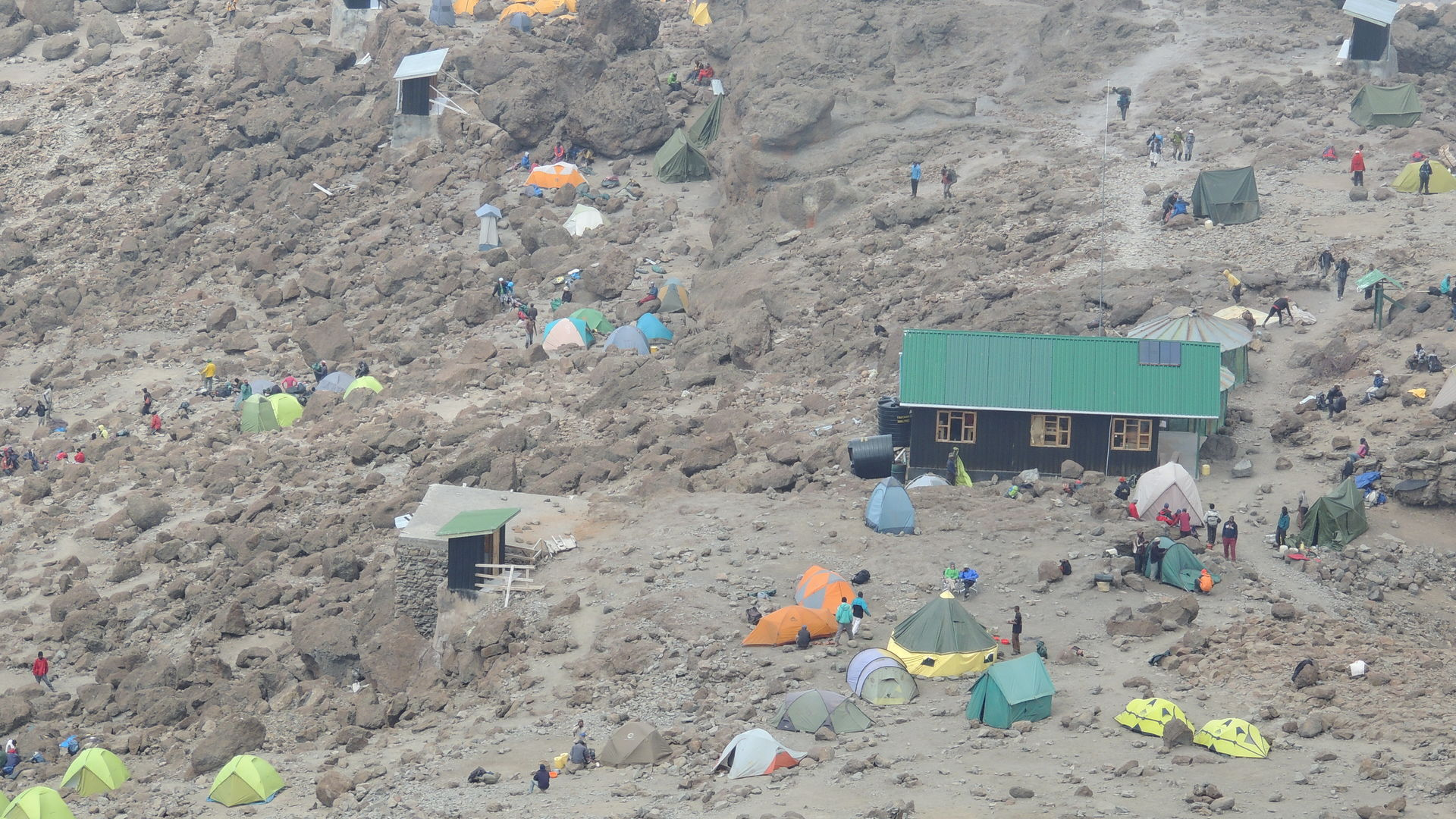Kilimanjaro - Barafu Camp 4550 meter » Matoke