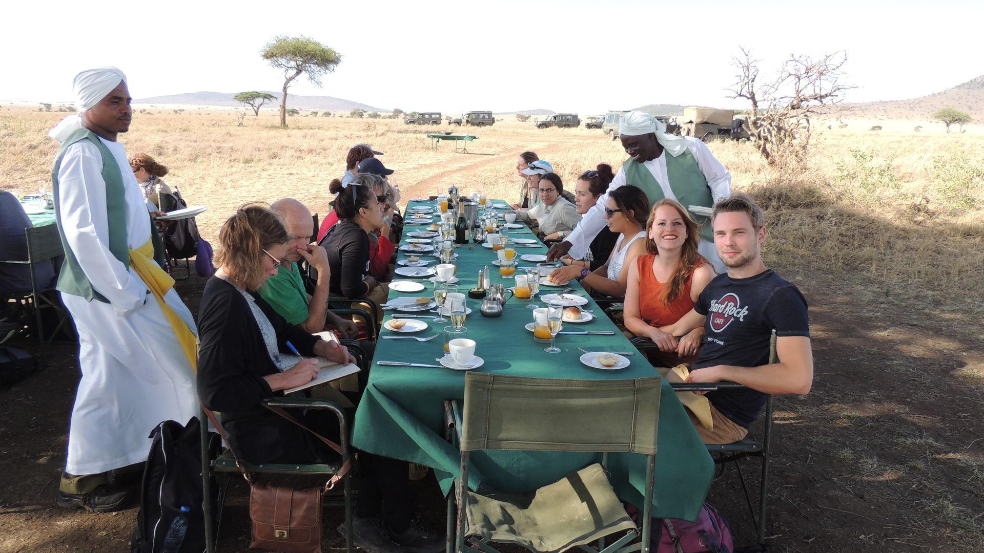 Ballonvaart Tanzania - De Serengeti vanuit een luchtballon