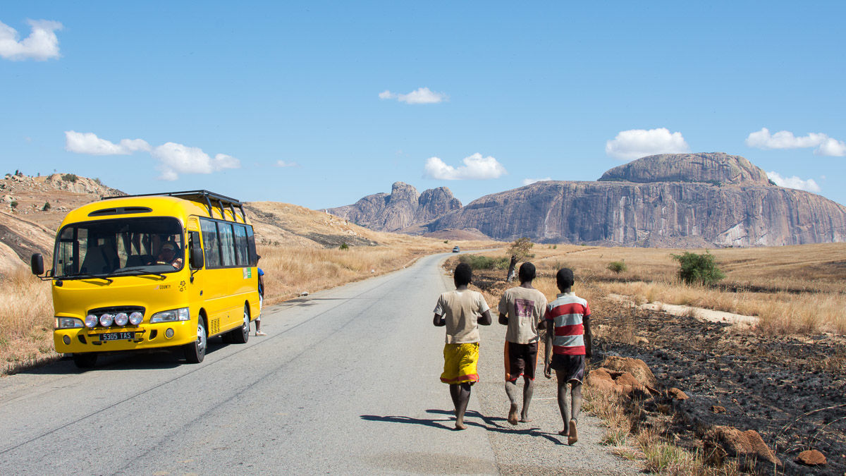 Voertuigen in Madagascar - vervoer
