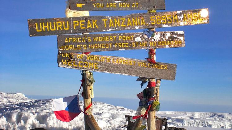 Kilimanjaro - Kilimanjaro berg Tanzania - Kilimanjaro beklimmen
