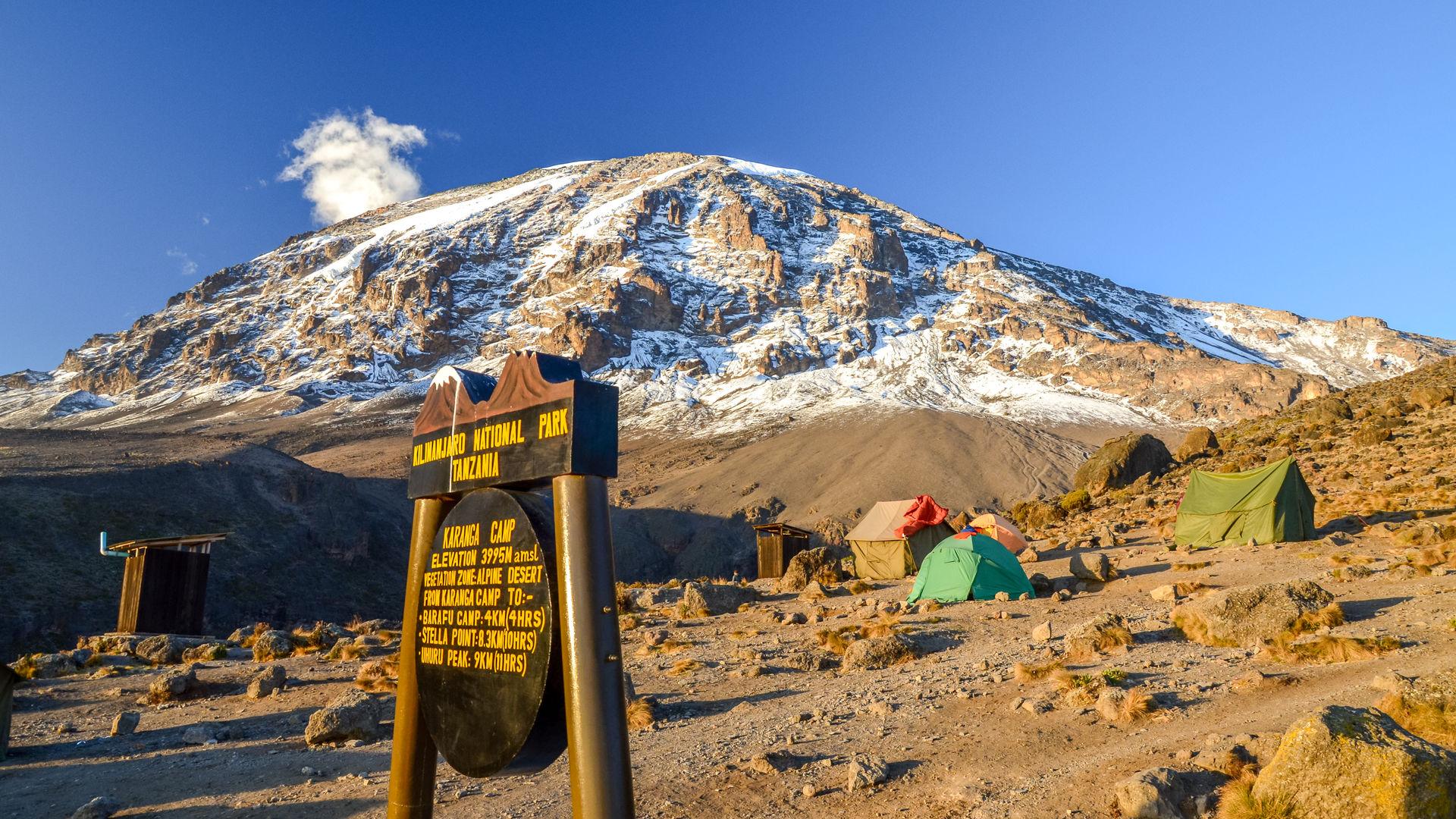 Kilimanjaro - Karanga Camp 3995 meter » Matoke
