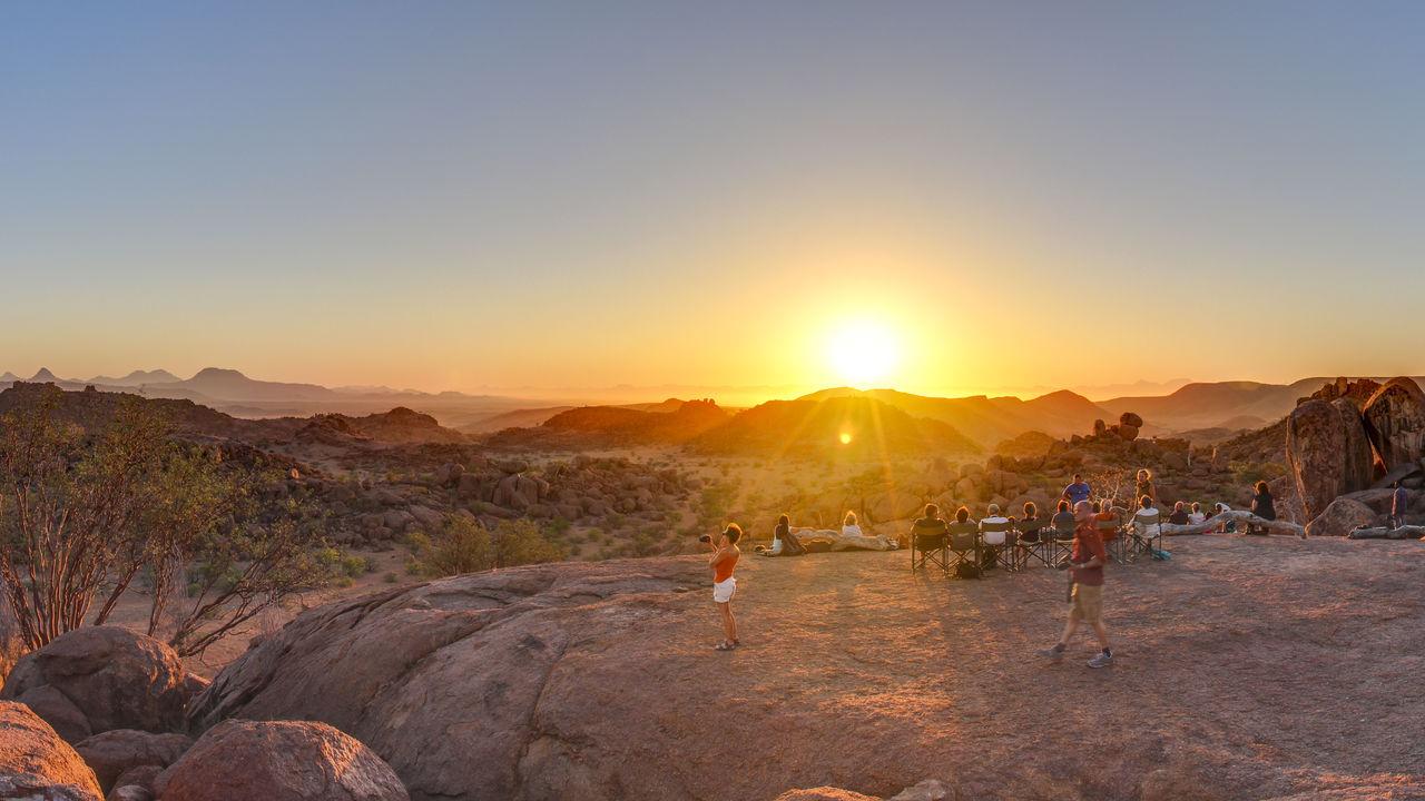 Damaraland Namibië - Spitzkoppe - Brandberg - Twyfelfontein