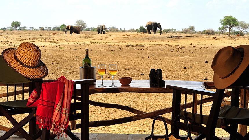 Tsavo West Nationaal Park bezoeken | Matoke Tours