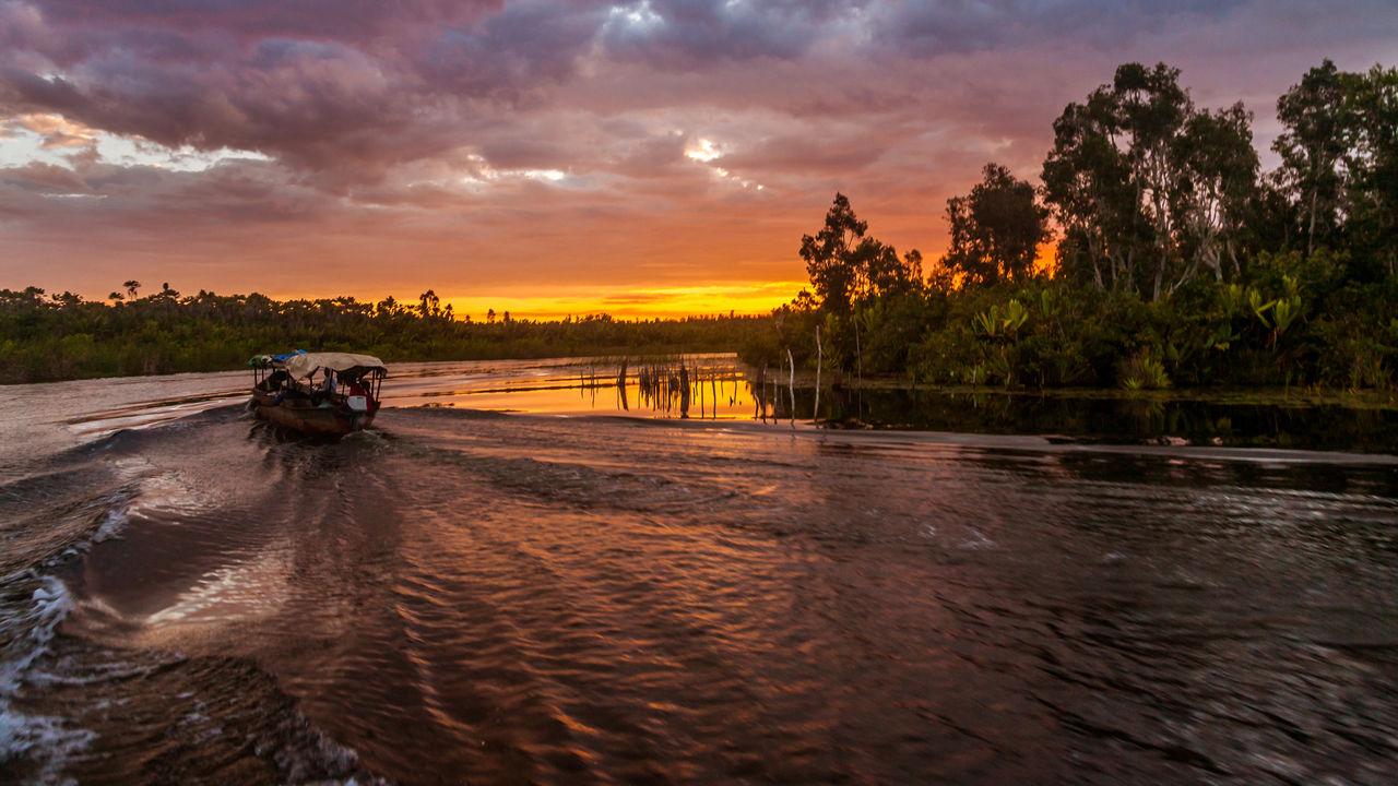 Canal des Pangalanes -- kanalen Pangalanes -- Madagascar bezienswaardigheden